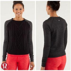 🅽🆆🆃- Lululemon |St Moritz Sweater | Black | 8